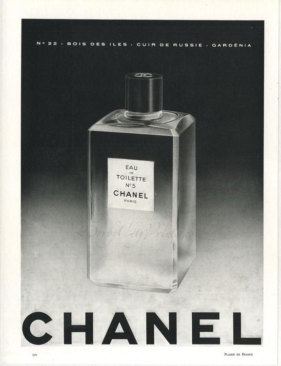 Foto de Chanel No. 5 - publicidad del 30 al 60 (7/61)