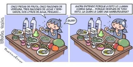 Con una dieta sana no tenemos que sentir hambre