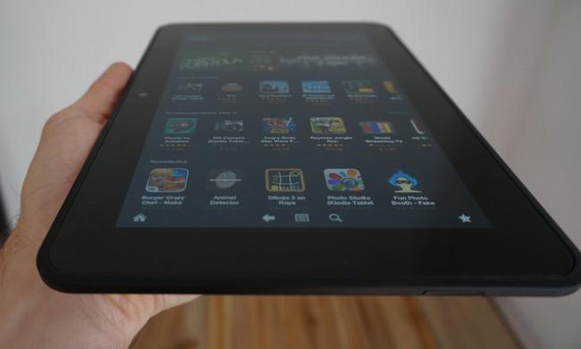 Kindle Fire HD en mano