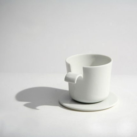Café Pelé, taza pelada