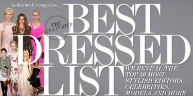 Las 30 mejor vestidas, por Net-a-Porter