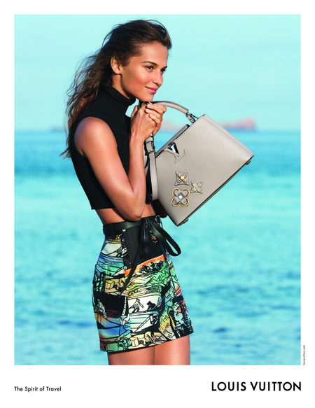 Alicia Vikander Para Louis Vuitton 2
