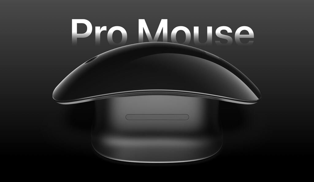 Este concepto menciona como puede ser un Magic Mouse ergonómico