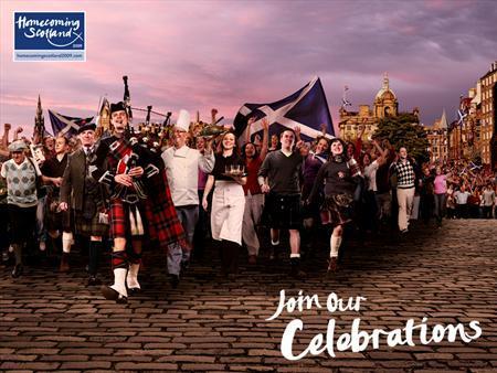 Homecoming Scotland 2009: el año de Escocia
