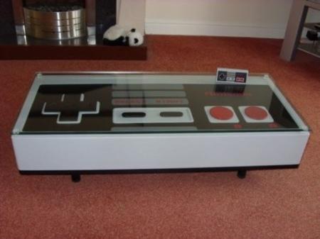 Mesa para fanáticos de Nintendo