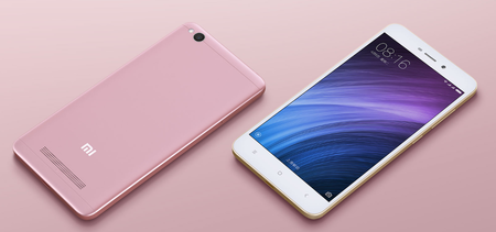 Xiaomi Redmi 4a Frontal