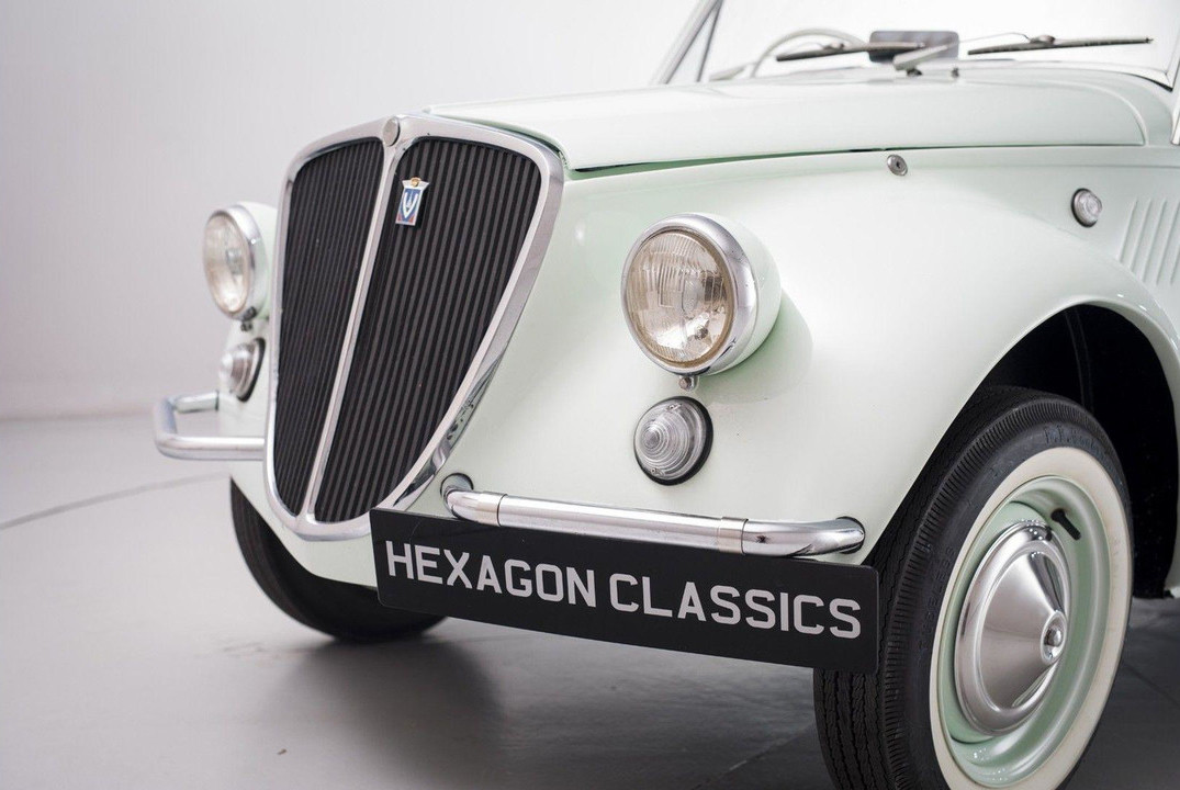 Fiat 500 Gamine by Vignale
