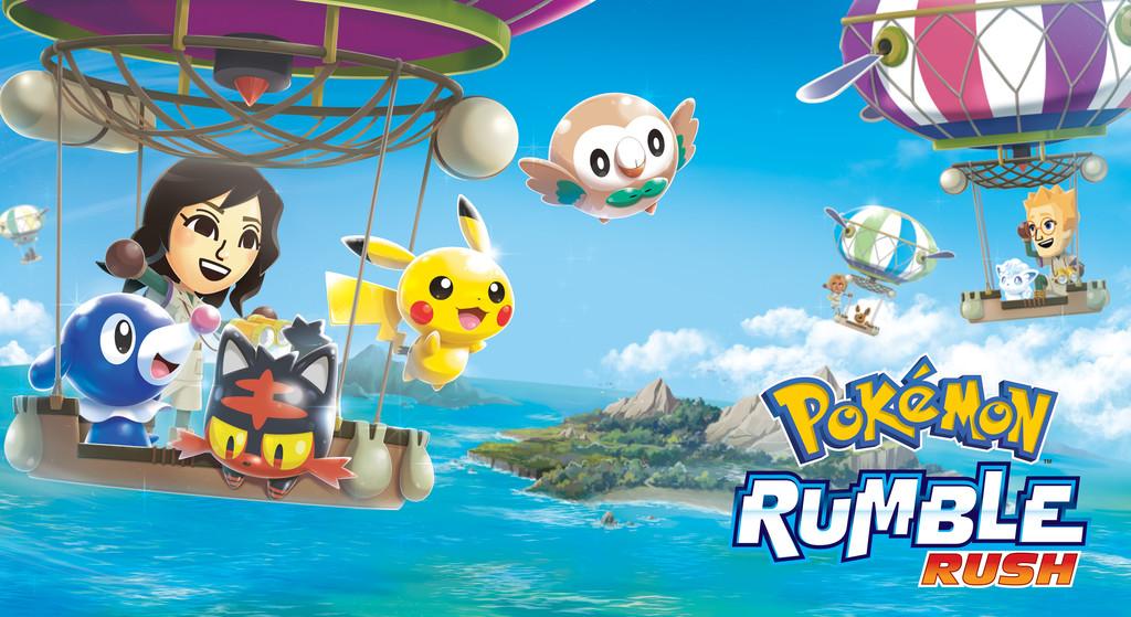 Pokémon Rumble Rush ya está disponible para descargar en todo el mundo para Android