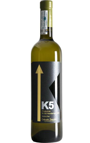 Vino blanco K5 Arguiñano txakoli DO Getariako Txakolina