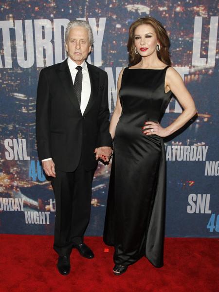 Michael Douglas y Katherine Zeta Jones