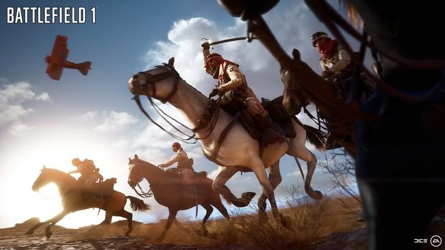 Battlefield 1 Caballos