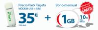 Digi Mobil lanza el mejor bono prepago para módem USB: 1 Gb por 10 euros mensuales