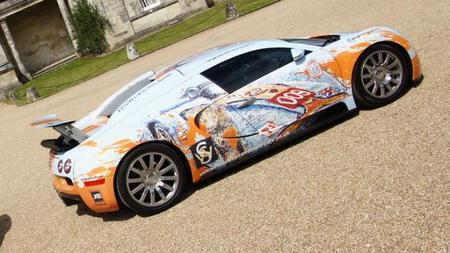 BugARTi Veyron, un nuevo y caro Art Car