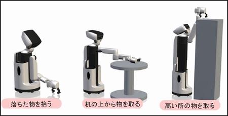 Recogiendo objetos de hasta 1.2Kg de peso a distintas alturas