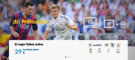 Ver el Clásico online: 29 euros para nuevos clientes de VeoFútbol, 4,99 euros en OpenFútbol