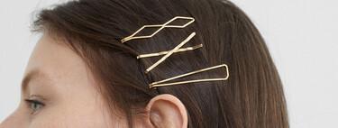 H&M, Parfois y Mango lo tienen claro, esta temporada el dorado se impone en los accesorios para lucir en nuestro pelo