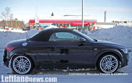 Fotos espía del Audi TT-RS Cabriolet