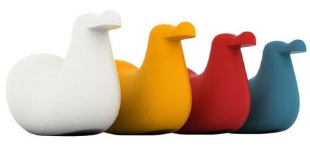 Dodo Rocking Bird: balancín de diseño
