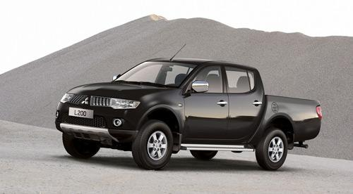nuevo mitsubishi l200 la pick up nipona se actualiza. Black Bedroom Furniture Sets. Home Design Ideas
