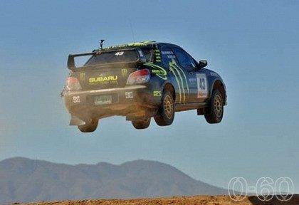 El Subaru volador