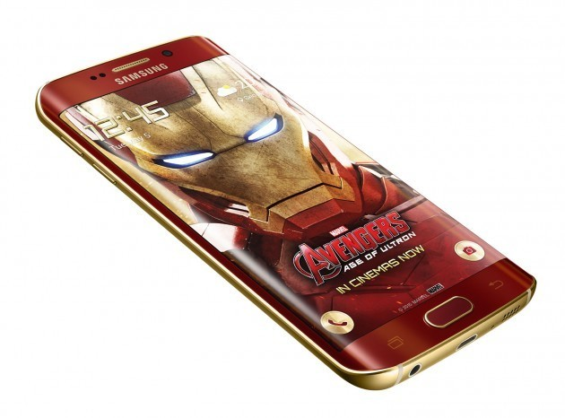 Iron Man Galaxy S6 Edge Edicion Limitada