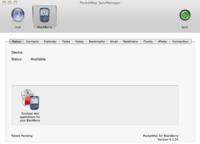 PocketMac for BlackBerry, sincronización con Mac OS X