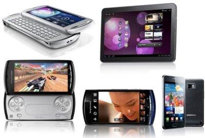 Samsung Galaxy S II y los otros teléfonos anunciados ayer
