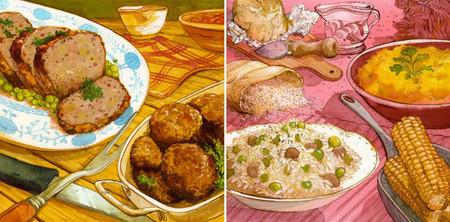 Bonitas ilustraciones culinarias del artista Felice Bruno