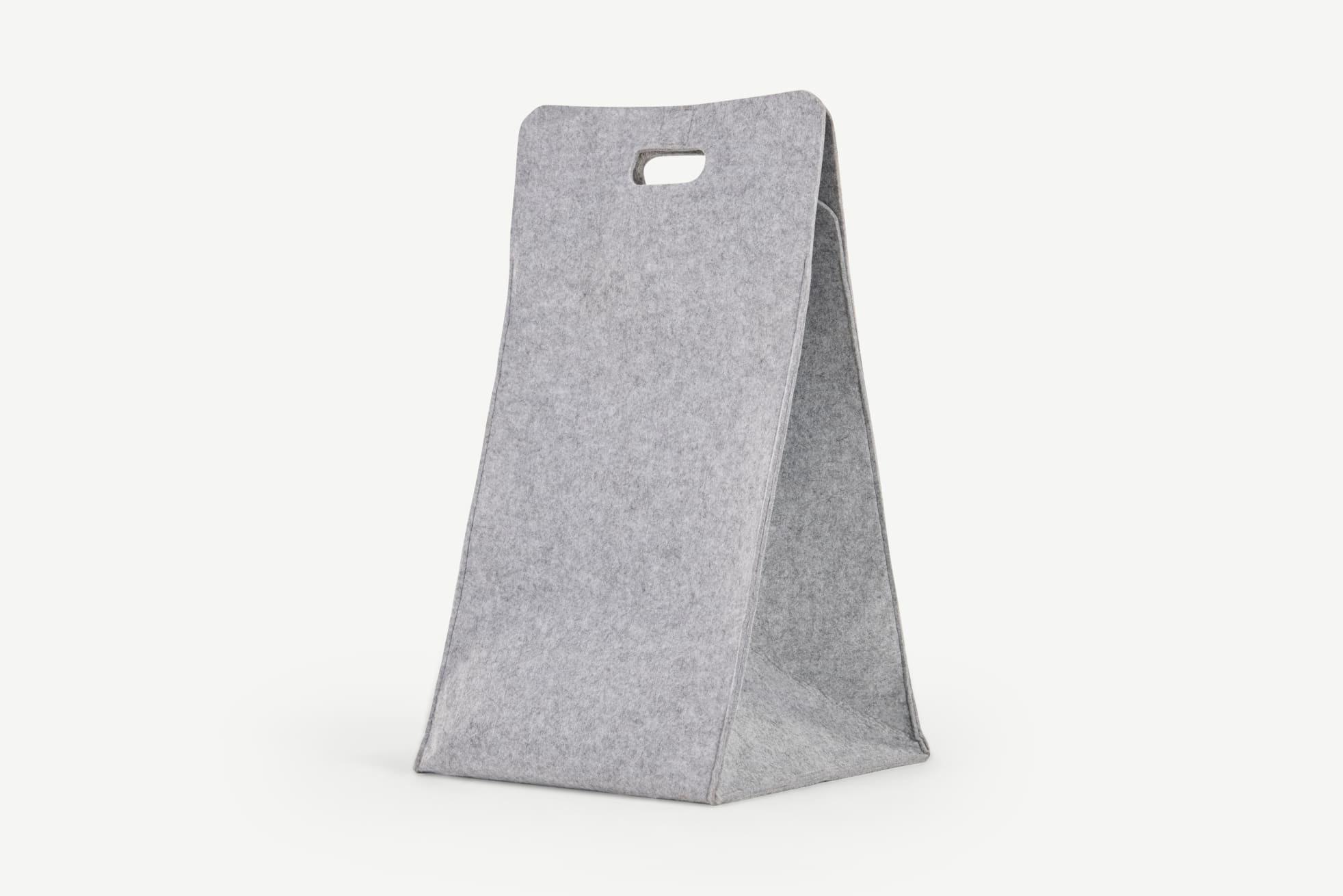 Cesta de la ropa Bask, gris