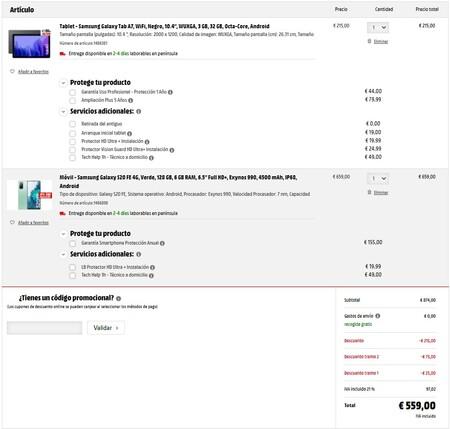 Pack Samsung Mediamarkt
