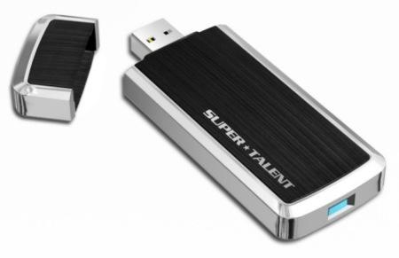 Memoria USB 3.0 de Super Talent con 32, 64 o 128 GB
