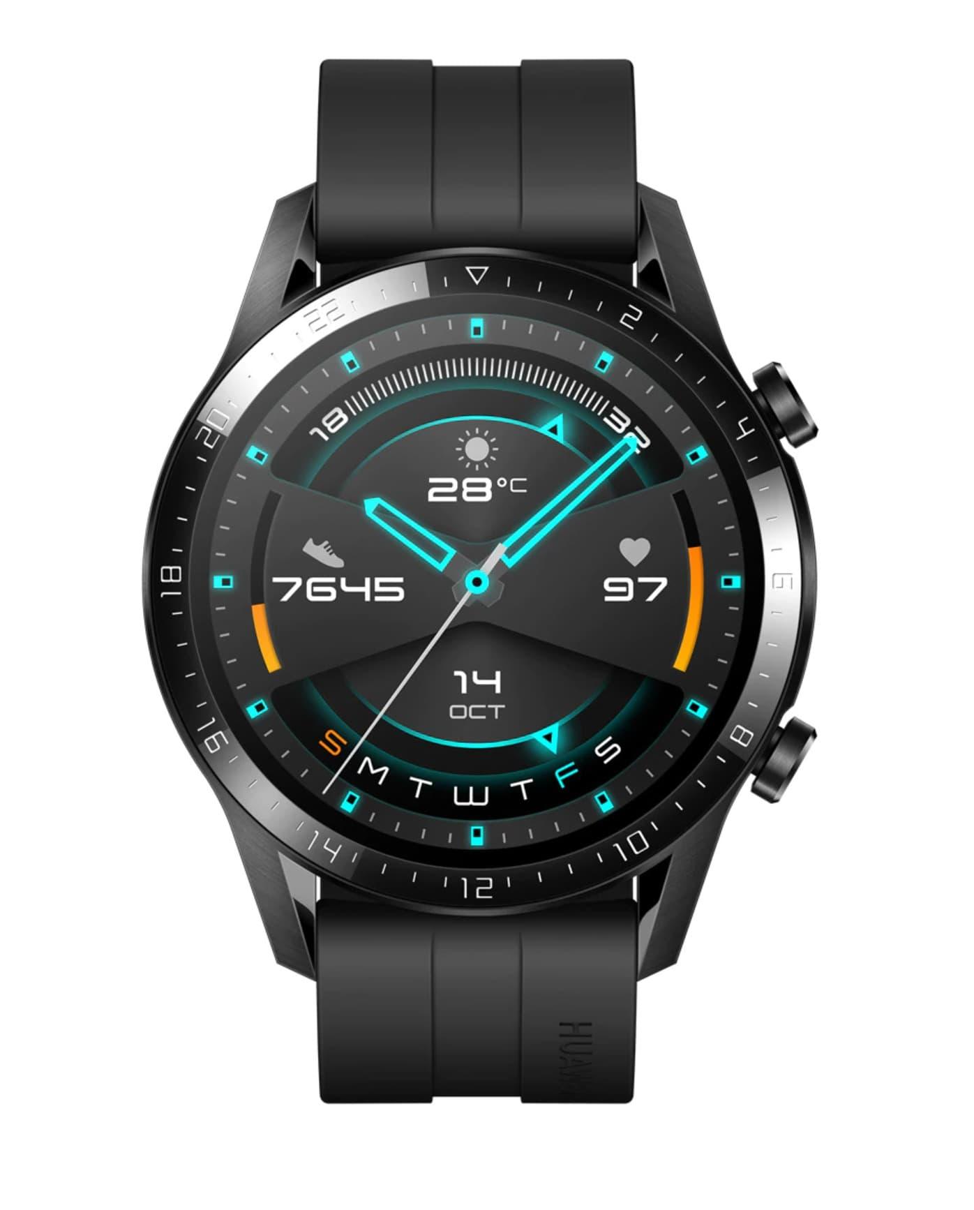 Huawei Watch GT 2 Sport 46 mm Negro mate Smartwatch