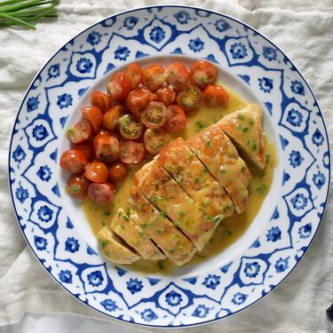 Pechugas de pollo a la plancha con vinagreta de mostaza: receta fácil y rápida perfecta para la cena