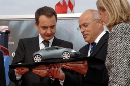 Zapatero visita SEAT
