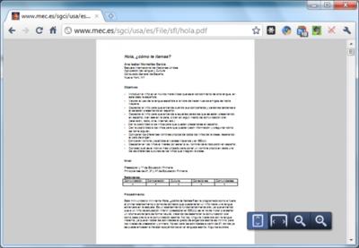 La visión PDF integrada llega a Google Chrome beta