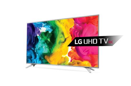 Smart TV de 55 pulgadas LG 55UH650V, con resolución 4K, por 679 euros