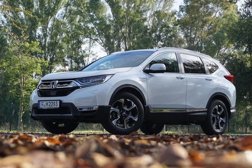 Probamos el Honda CR-V Hybrid: el primer SUV híbrido de Honda en Europa, con la etiqueta ECO como guinda del pastel