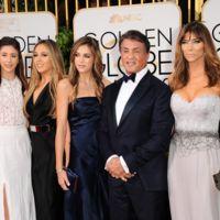 Sylvester Stallone & Family