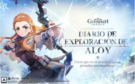 Aloy evento web Genshin Impact