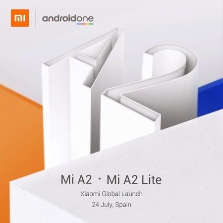 Es oficial: Mi A2 y Mi A2 Lite serán los próximos smartphones Xiaomi con Android One que conoceremos este mismo mes