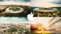 """Steve Jobs presenta el futuro campus de Apple, una impresionante """"nave espacial"""" rodeada de árboles"""