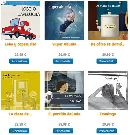 Cuentis es una plataforma en Internet para vender cuentos personalizados