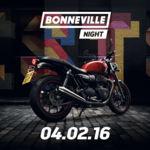 ¿Tienes planes para el 4 de febrero? Haz hueco para la Triumph Bonneville Night