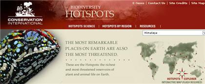Biodiversity Hotspots: los lugares más amenazados