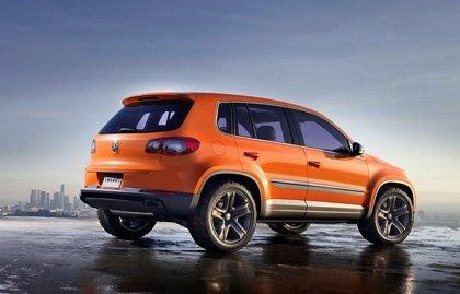 Volkswagen Tiguan Concept, primeras imágenes