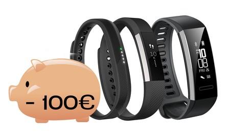 9 pulseras de actividad por menos de 100 euros, para que lo importante sólo sea hacer ejercicio