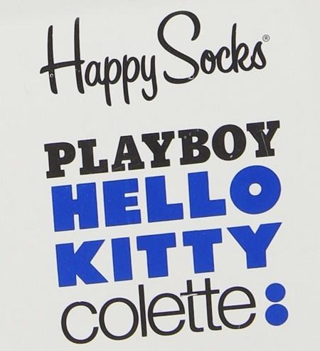 Hello Kitty! cumple años y lo celebra con Playboy, Colette y Happy Socks
