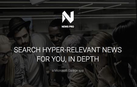 News Pro, la nueva app de noticias personalizadas de Microsoft Garage