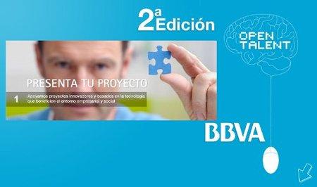 Segunda edición de los premios BBVA Open Talent
