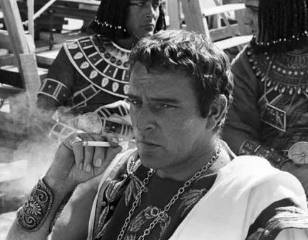 Richard Burton.- Cleopatra. © AP